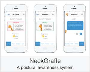 NeckGraffe: A postural awareness system
