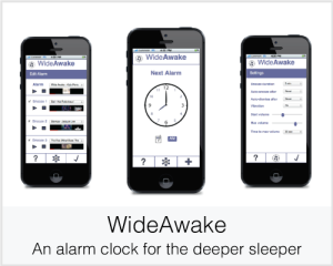 WideAwake: An alarm clock for the deeper sleeper